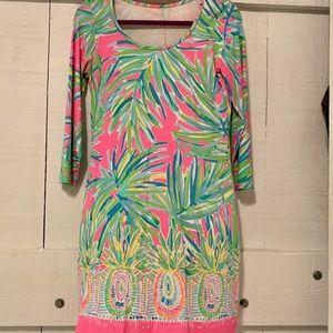 Lilly Pulitzer Tiki Pink Beacon Dress